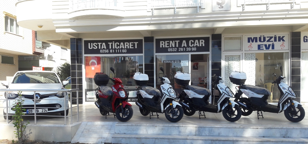 Didim rent a car & scooter